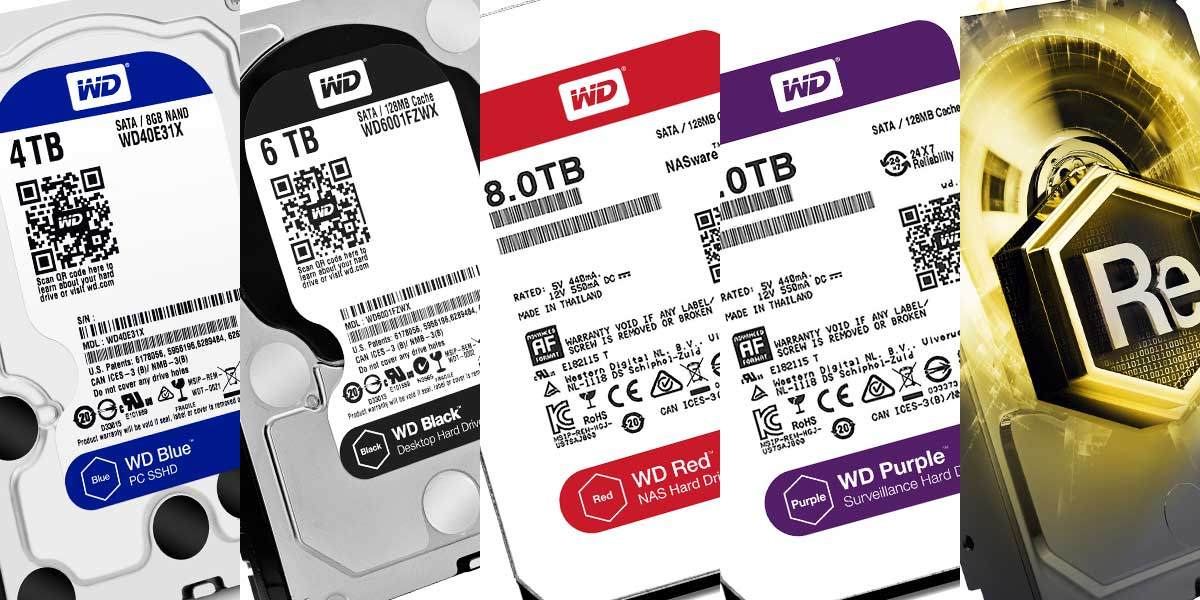 Guide | Understanding The Differences Between WD HDD Colors